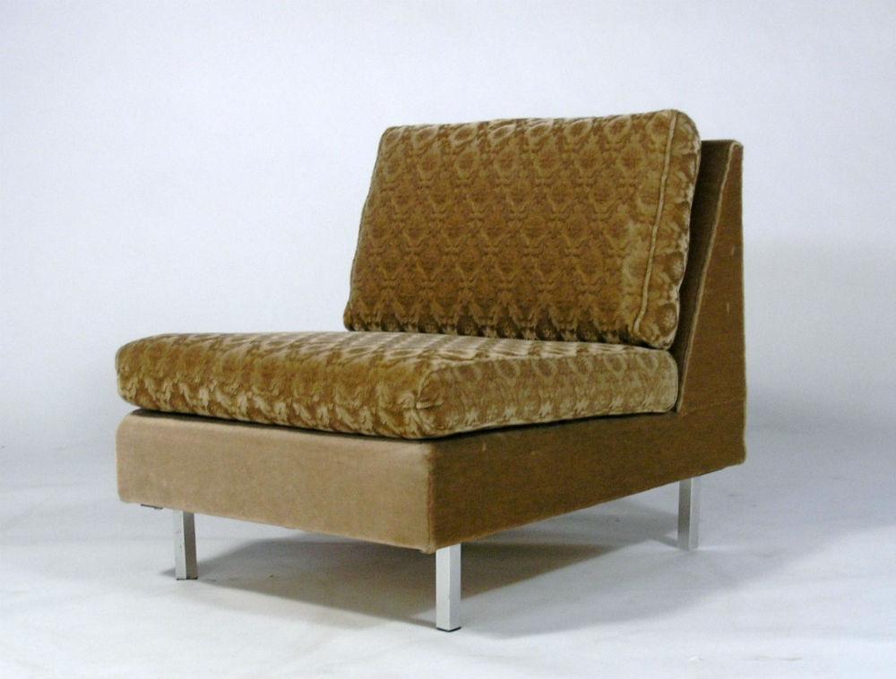 canap et chauffeuse consetta j l m ller vintage 55. Black Bedroom Furniture Sets. Home Design Ideas