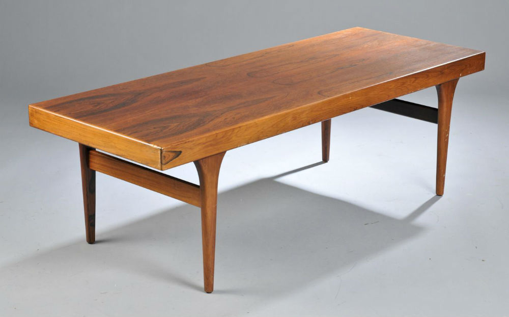 Table basse johannes andersen mobilier scandinave vintage 55 for Table basse scandinave design